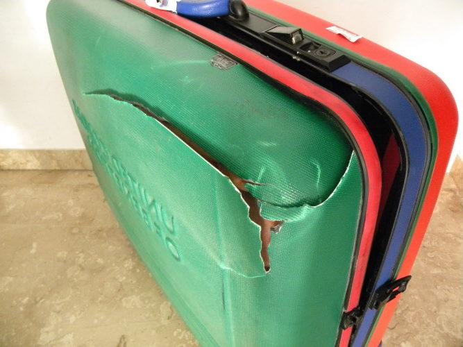 risarcimento danneggiamento bagaglio