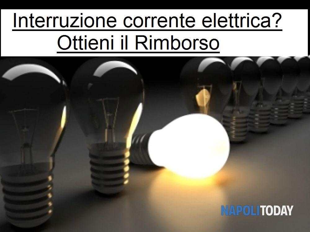 Risarcimento interruzione corrente elettrica